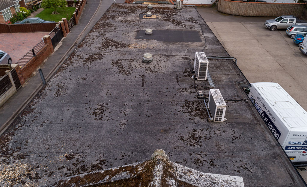 Roof before